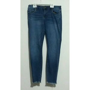 Kut From the Kloth Size 8 Skinny Ankle Jeans